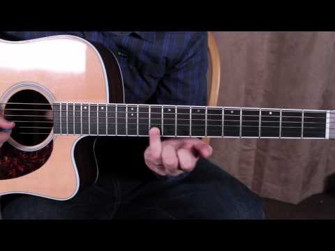 Acoustic Blues Rock Solos - Guitar Lesson - How To Solo - Concepts For Minor