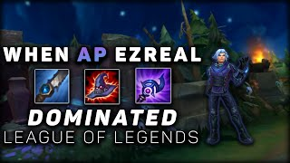 The Story Of How AP Ezreal With Smite Destroyed League of Legends For 1 Month