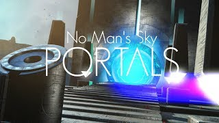 No Man's Sky - How to find and use portals