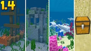 EPIC SHIPWRECK SEED with Buried Treasure, Coral Reefs, & Ruins!!! | Minecraft Pocket Edition (1.4+)