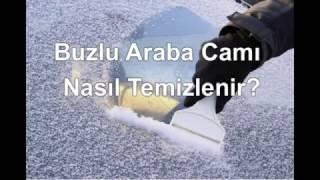 Buzlu Araba Camı Nasıl Temizlenir?