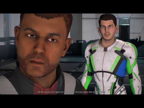 Mass Effect Andromeda Gil all romance scenes with male Ryder including babies streaming vf