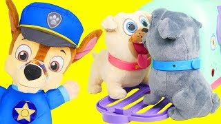 Puppy Dog Pals Rolly Crate Toys with Disney Junior Bingo, Doctor, and Keia   Frozen 2