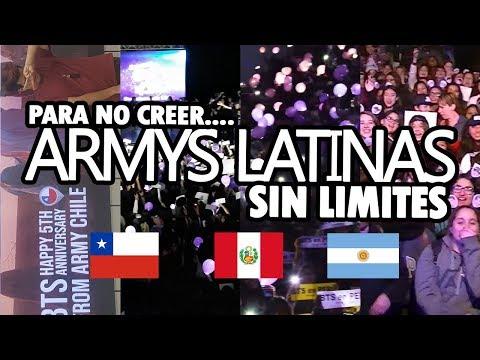 ARMYS LATINAS SUPERAN LOS LIMITES! - INCREÍBLE!