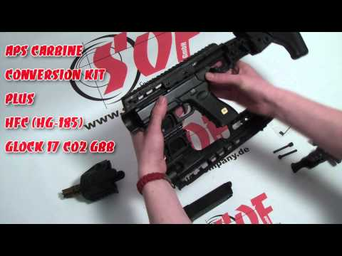 APS Airsoft Glock Pistol Conversion Kit