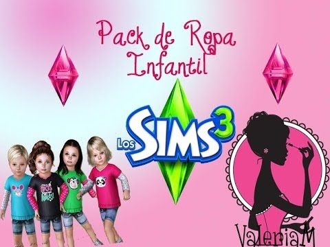 Los sims 3 descargar pack de ropa para infantes y ni os for Cuartos para ninos sims 4