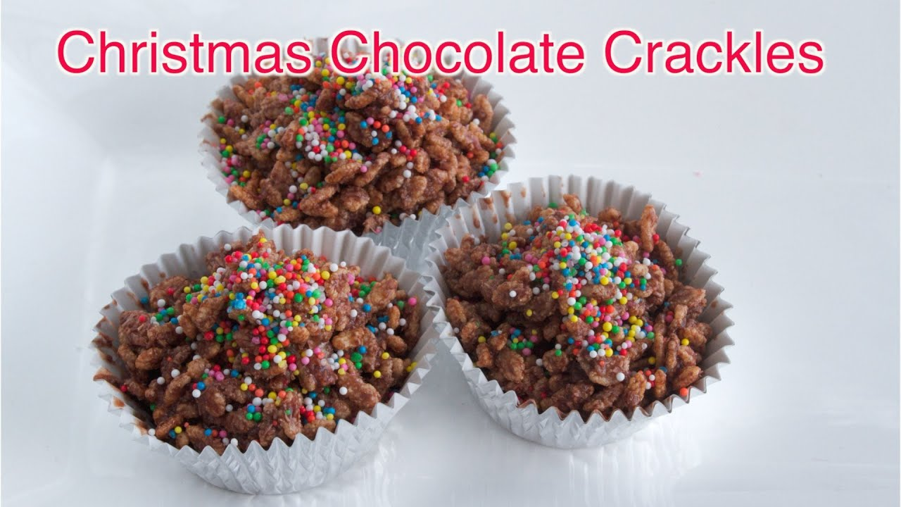 Christmas Chocolate Bars Christmas Chocolate Crackles