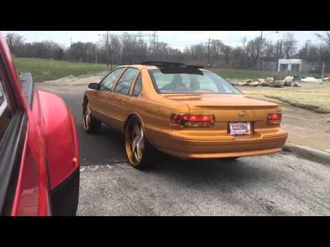 Gold 96 Impala SS on 28