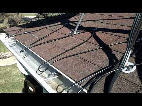 Heated Gutter Cable Installation-Easy Heat Cables