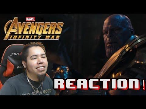 Avengers: Infinity War Trailer 2 REACTION   HMK
