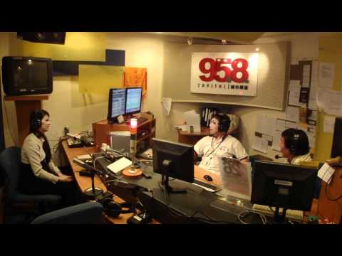 Radio 95.8FM Interview with Genecia Luo,Miss Singapore (Charisma Coach)