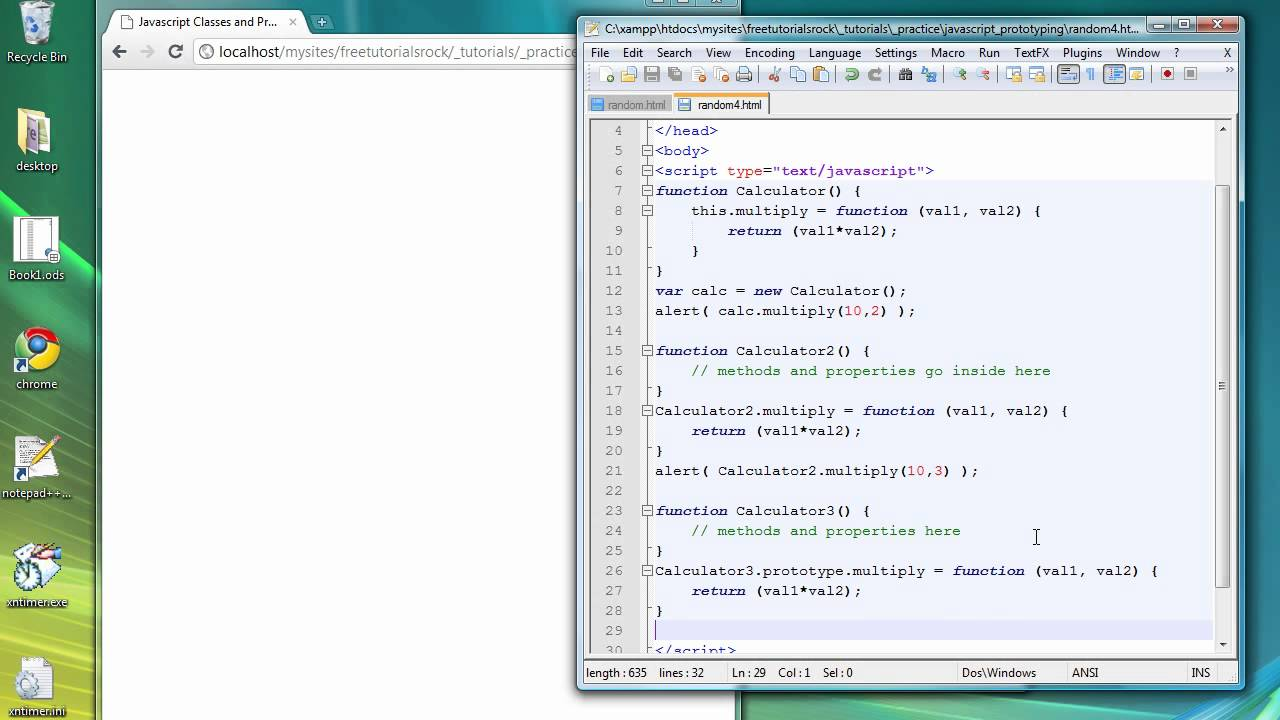 object oriented javascript tutorial pdf
