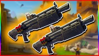 LEGENDARY DOUBLE HEAVY SHOTGUN | Fortnite Battle Royale