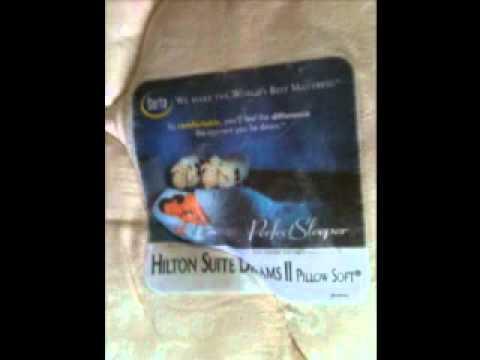 SERTA Hilton Suite Dreams II beds