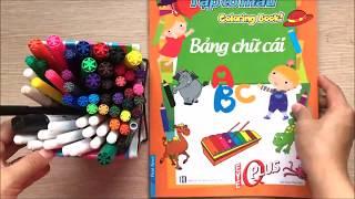 Đồ chơi trẻ em BÉ TÔ MÀU con kiến, xe đạp, cô gái, cái mũ, con lạc đà - Learn colors(Chim Xinh)
