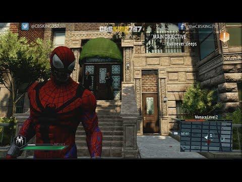 The Amazing Spider Man 2 Gameplay- All Investigation Photos - Spider Carnage