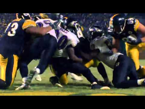 NFL Videos Baltimore Ravens VS Pittsburgh Steelers Movie Trailer