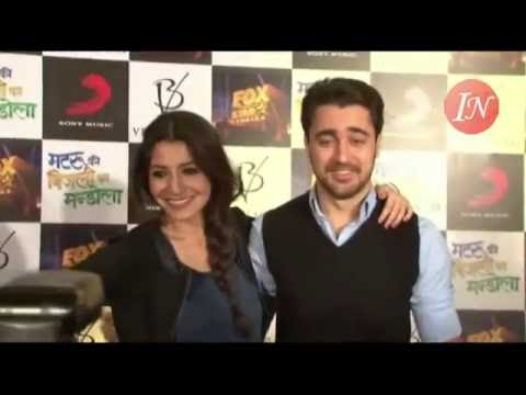 Movie Matru Ke Bijli Ka Mandola Interview By Anushka Sharma And Imran Khan video