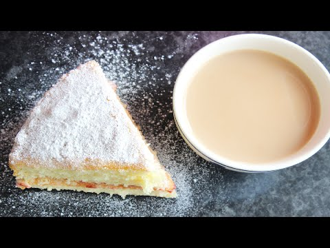 How to make Victoria sandwich cake | Ethiopian Beauty