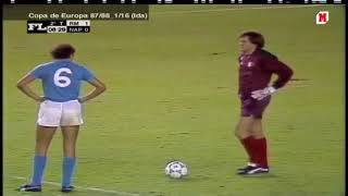 Champions CUP: Real Madrid - Napoli (2-0) - 16/09/1987