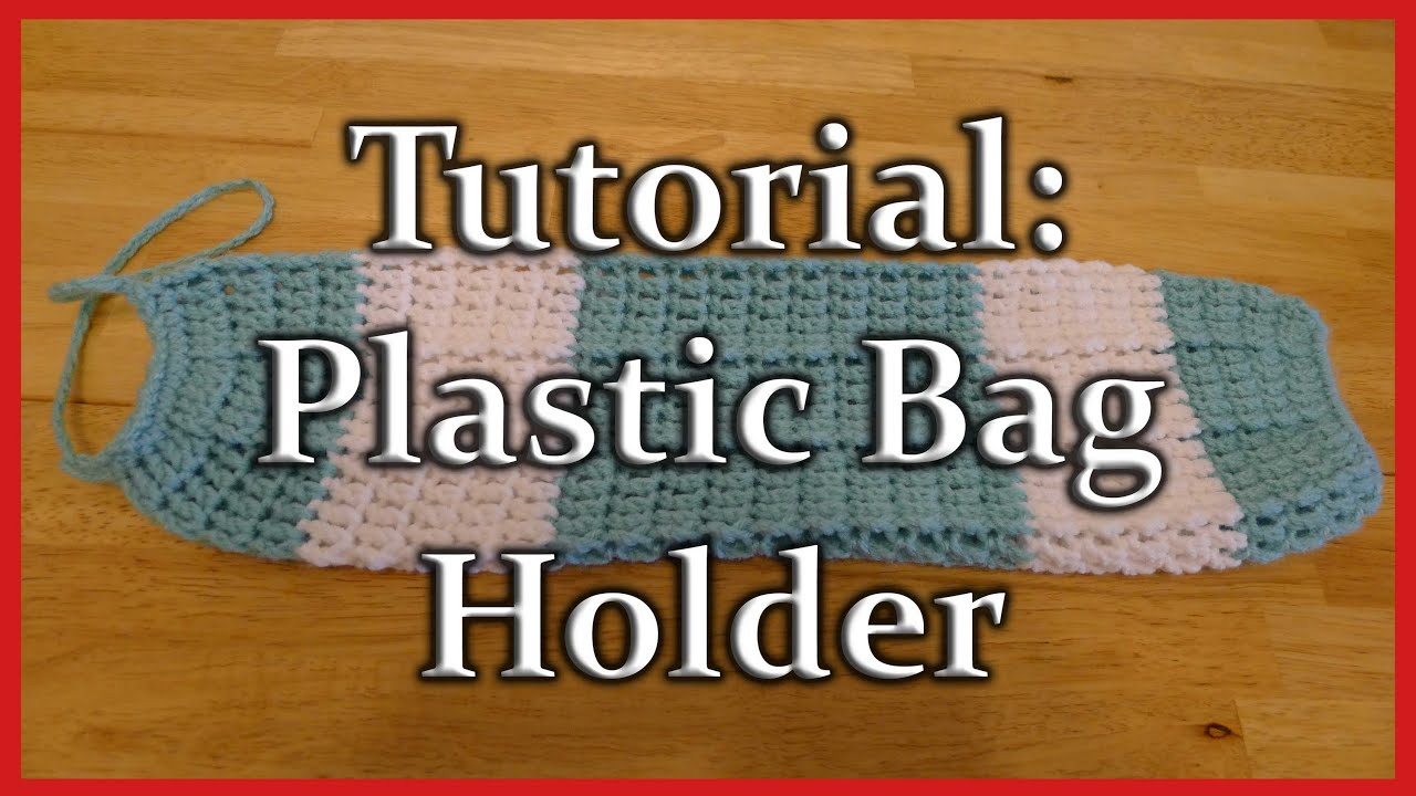 Crochet Plastic Bag/grocery