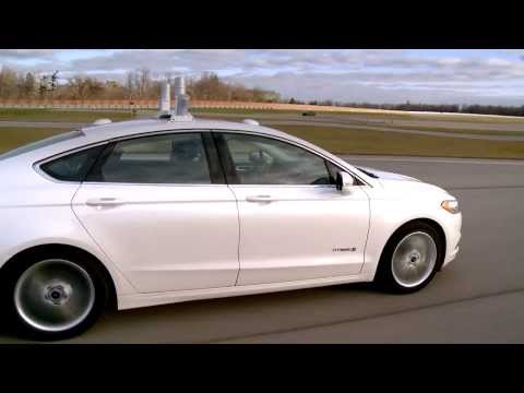 Ford Fusion Hybrid Research Vehicle Overview With LiDAR Technology