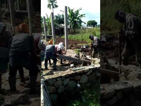 Pemasangan Kolom Pagar Panel Beton Serang Banten 087771073681