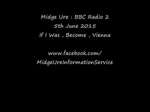 Midge Ure : BBC Radio 2 Music Day , Glasgow 5th June 2015