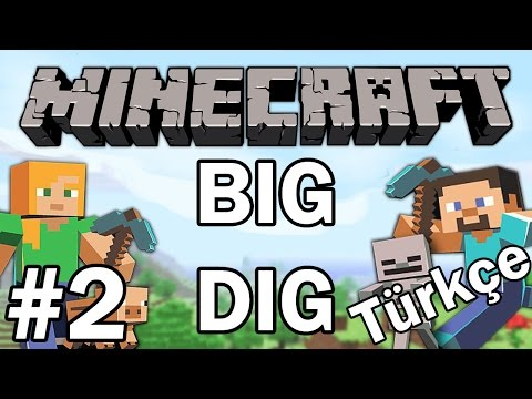 Minecraft: Big Dig #2 - Quarry Yapımı | Türkçe