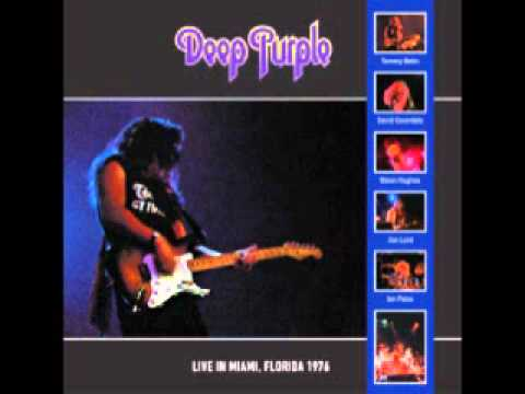 Deep Purple - Deep Purple - Smoke On The Water/Georgia On My Mind (From 'Live in Miami 76' Bootleg)