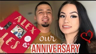 ANNIVERSARY VLOG! + SHOWING SCRAPBOOK 😄