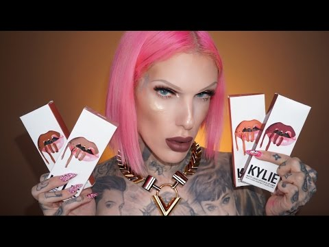 KYLIE JENNER 'Fall 2016'  LIP KITS: Review & Swatches   Jeffree Star