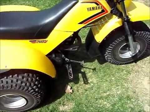18 Wheeler For Sale >> 1983 Yamaha tri-moto 200 ytm 200 Project update - YouTube