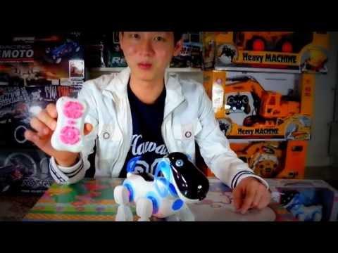 รีวิว หุ่นยนต์บังคับ น้องหมา ราคา 790 บาท By ตุ้ย แมดทอย