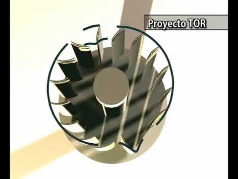 Proyecto TOR (Turbina Orientada por Raíles). EoloKratos.com