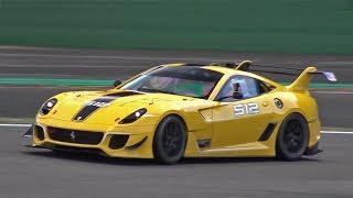 Ferrari 599XX EVO INSANE DOWNSHIFTS & ACCELERATIONS!!