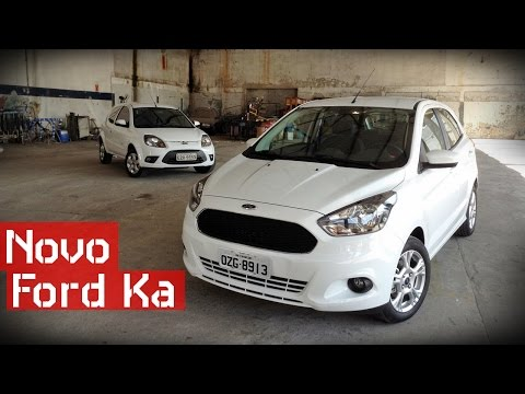 Novo Ford Ka 2015 - Teste Carsale
