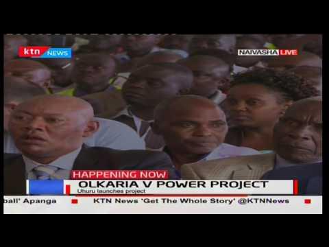 President Uhuru's full speech during the official opening of Olkaria V Power project