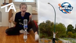 Water Bottle Flip Trick Shots ULTIMATE EDITION | That's Amazing & How Ridiculous