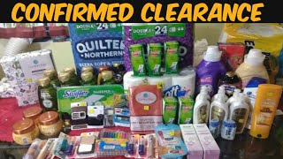 Confirmed Clearance at Dollar General With Printable List