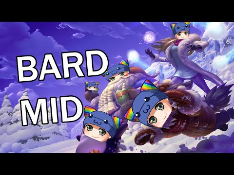 League of Legends - Snow Day Bard Mid - Full Gameplay Commentary
