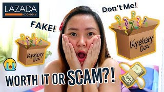Mystery Box unboxing from Lazada!