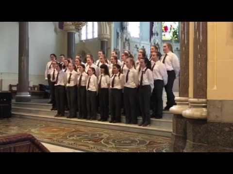 Borris Vocational School Junior Choir @ Kilkenny Music Festival 2017