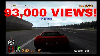 Gran Turismo 3 Like the Wind! 93,000 VIEWS! THANK YOU ALL SO MUCH! Corvette Z06 EPICNESS!