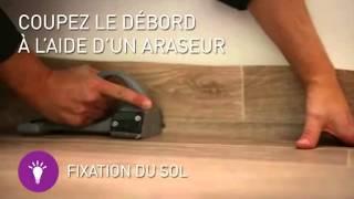 Rouleau PVC vinyle Gerflor avec envers GFT (Gerflor Fiber Technology) - Présentation et pose