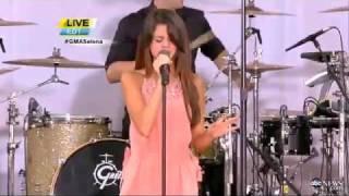 Selena Gomez & the Scene - Love You Like A Love Song Live on Good Morning America (6/17/2011)