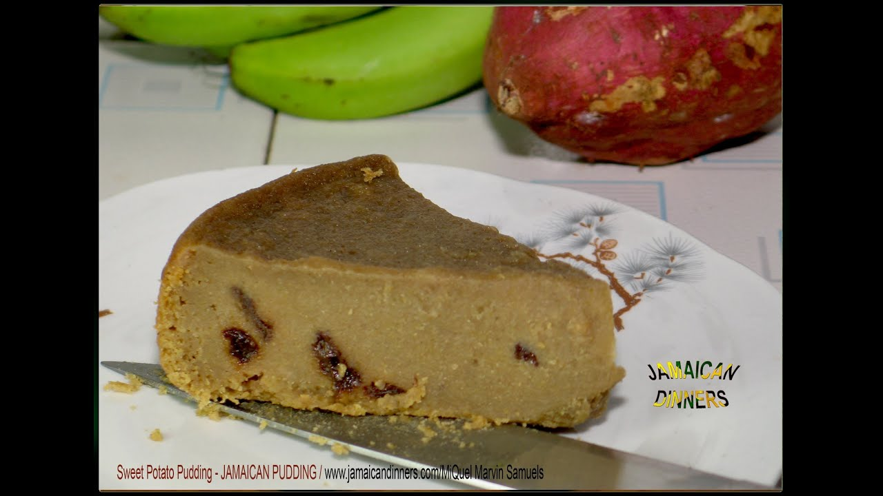 Sweet Potatoes: Jamaican Sweet Potato Pudding Recipe