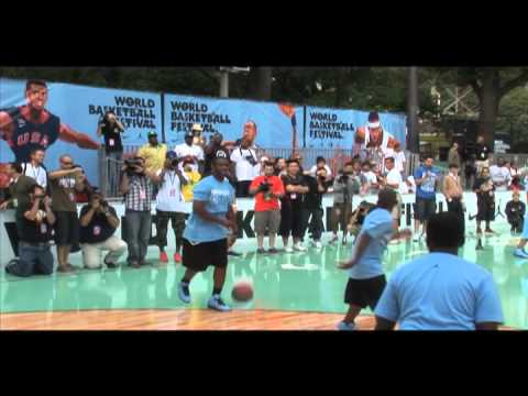 Michael Jordan's Breakfast Club at Rucker Park NYC