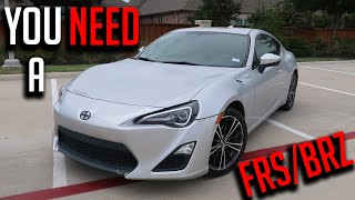 This Is Why The FRS/BRZ/86 Is A Perfect First Car! - In Depth FRS Review