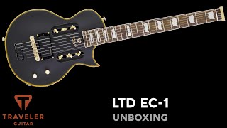 Traveler Guitar LTD EC-1 Unboxing